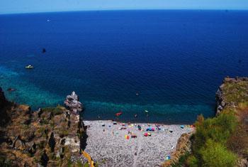 beach scario salina malfa
